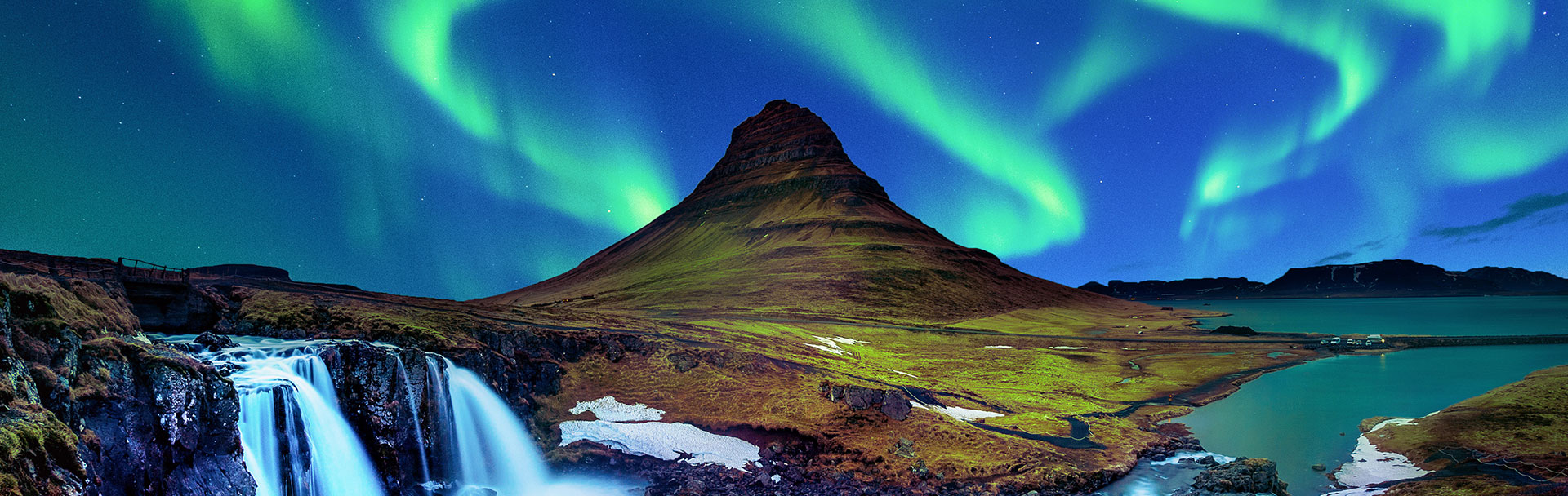 Gaze at the electric Northern Lights
