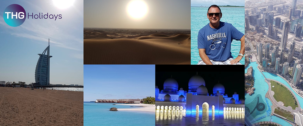 Tony's travels to the UAE and the pristine Maldives